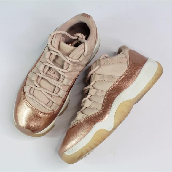 3f44e72d8a3 Nike Shoes | Air Jordan 11 Retro Low Rose Gold Metallic | Poshmark